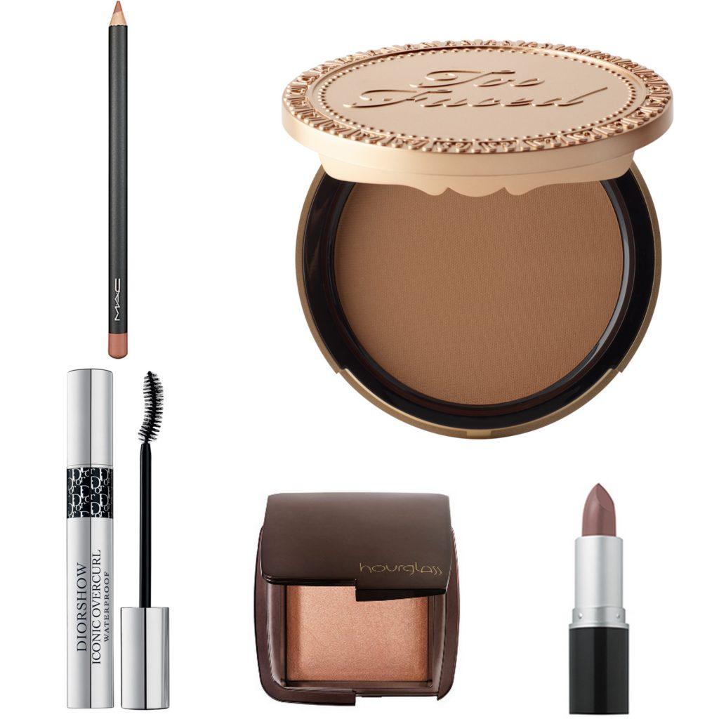 December 2014 Makeup Favorites | TooFaced Chocolate Soleil Bronzer // MUA Lipstick in Flesh #220 // Hourglass Ambient Lighting in Luminous Light // Diorshow Iconic Overcurl Waterproof Mascara