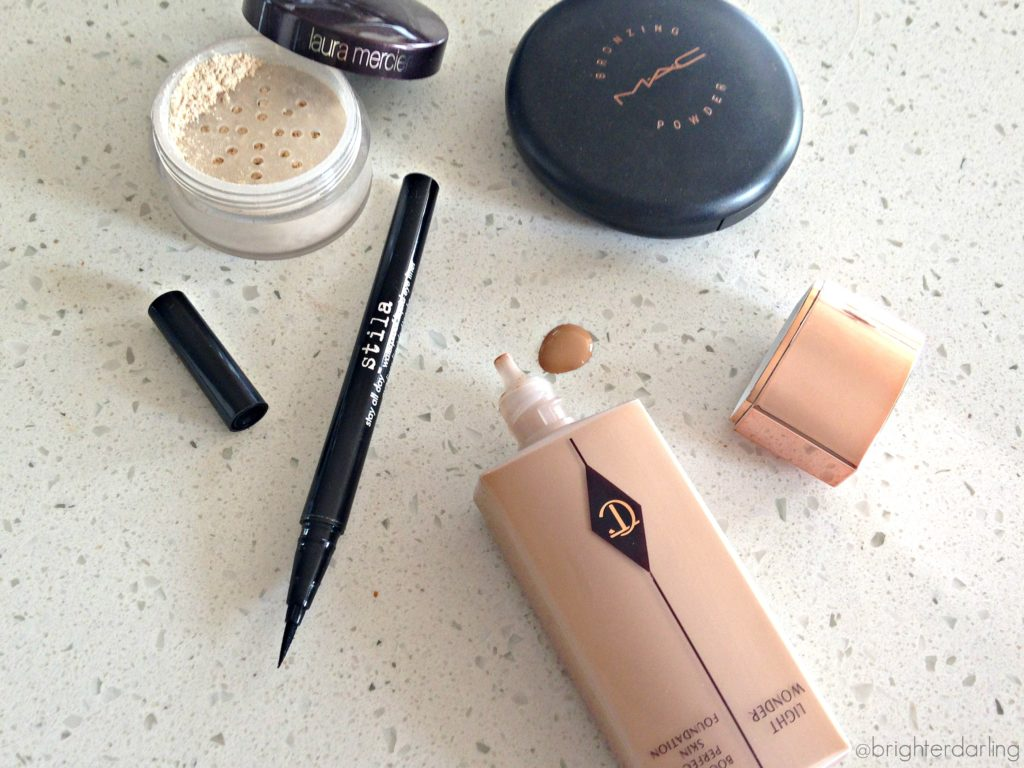 April 2015 Makeup Favorites Stila Laura Mercier MAC Charlotte Tilbury