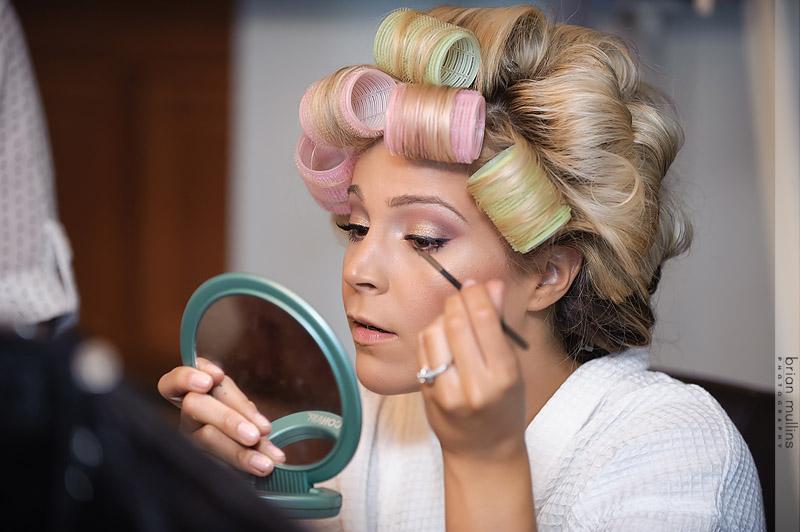 Long Lasting DIY Wedding Makeup Tutorial | real wedding brighterdarling.com