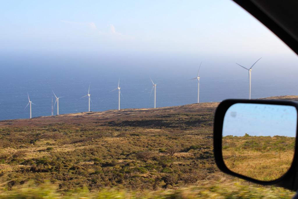Maui Wind Turbines