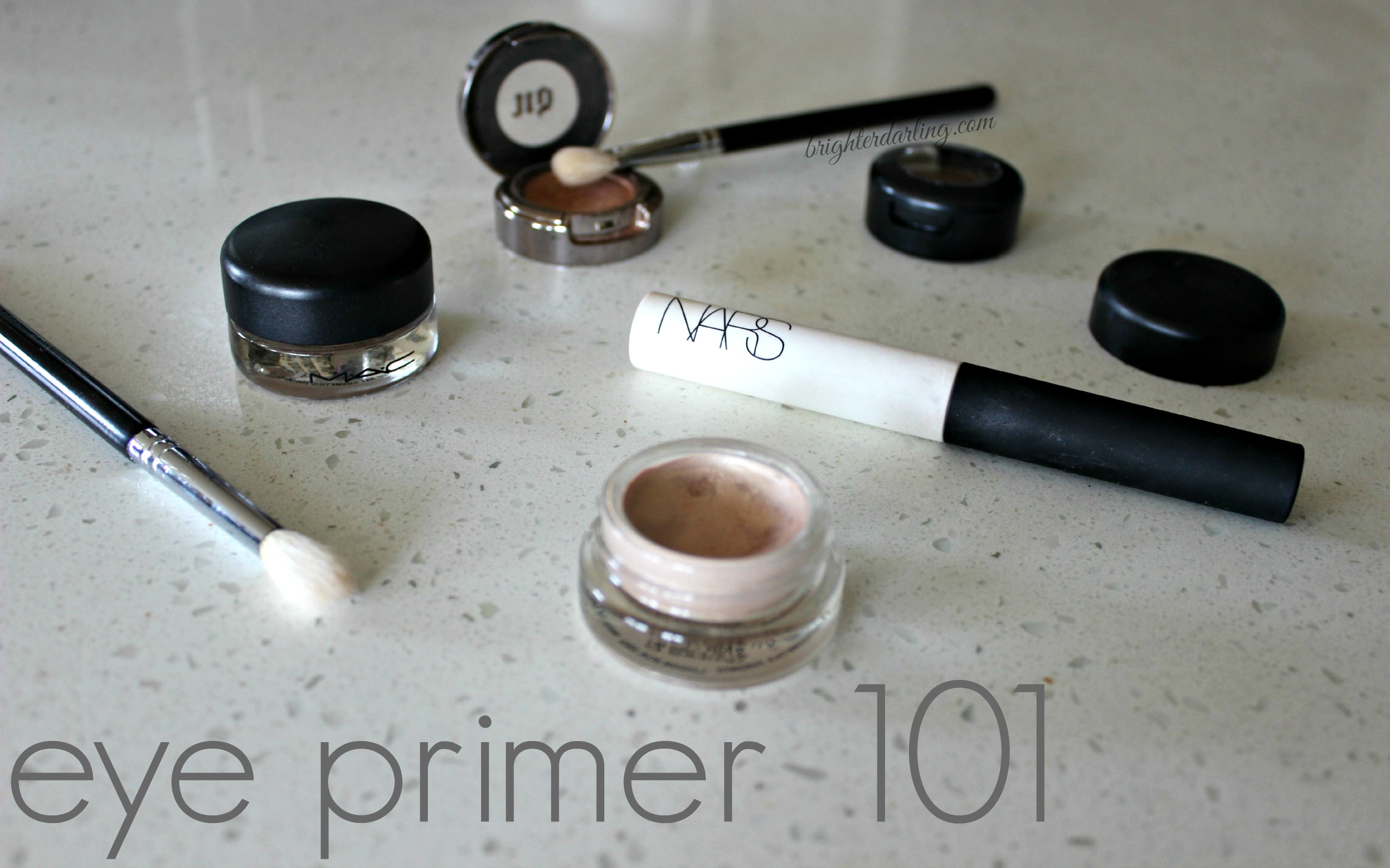Why You Need Eye Primer | MAC Painterly MAC Bare Study NARS | Brighterdarling.com