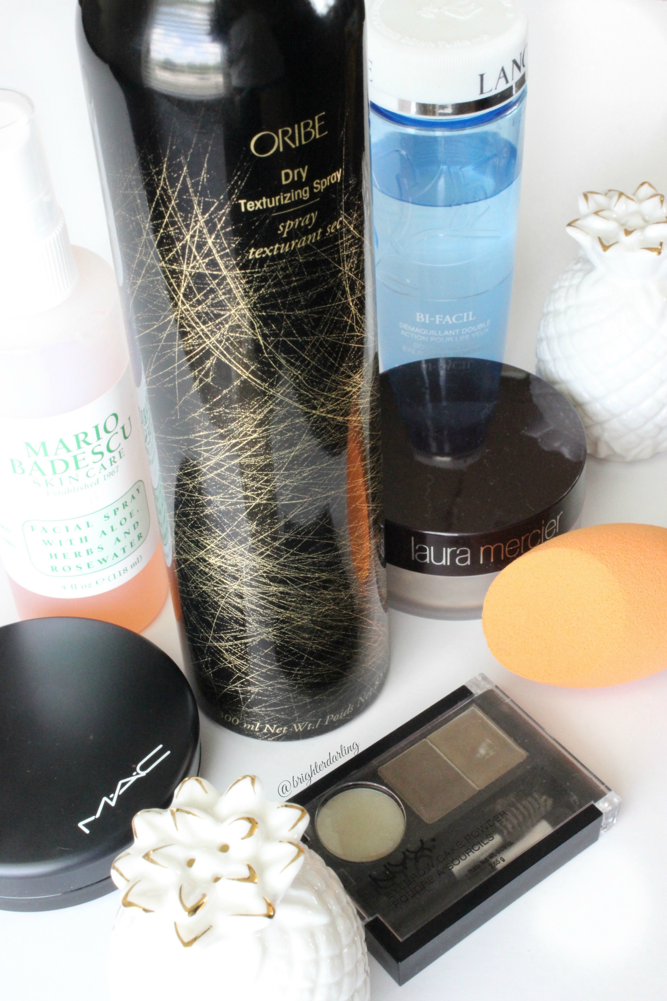 summer beauty haul | Mario Badescu Oribe MAC Laura Mercier NYX Real Techniques Lancome | Brighterdarling.com
