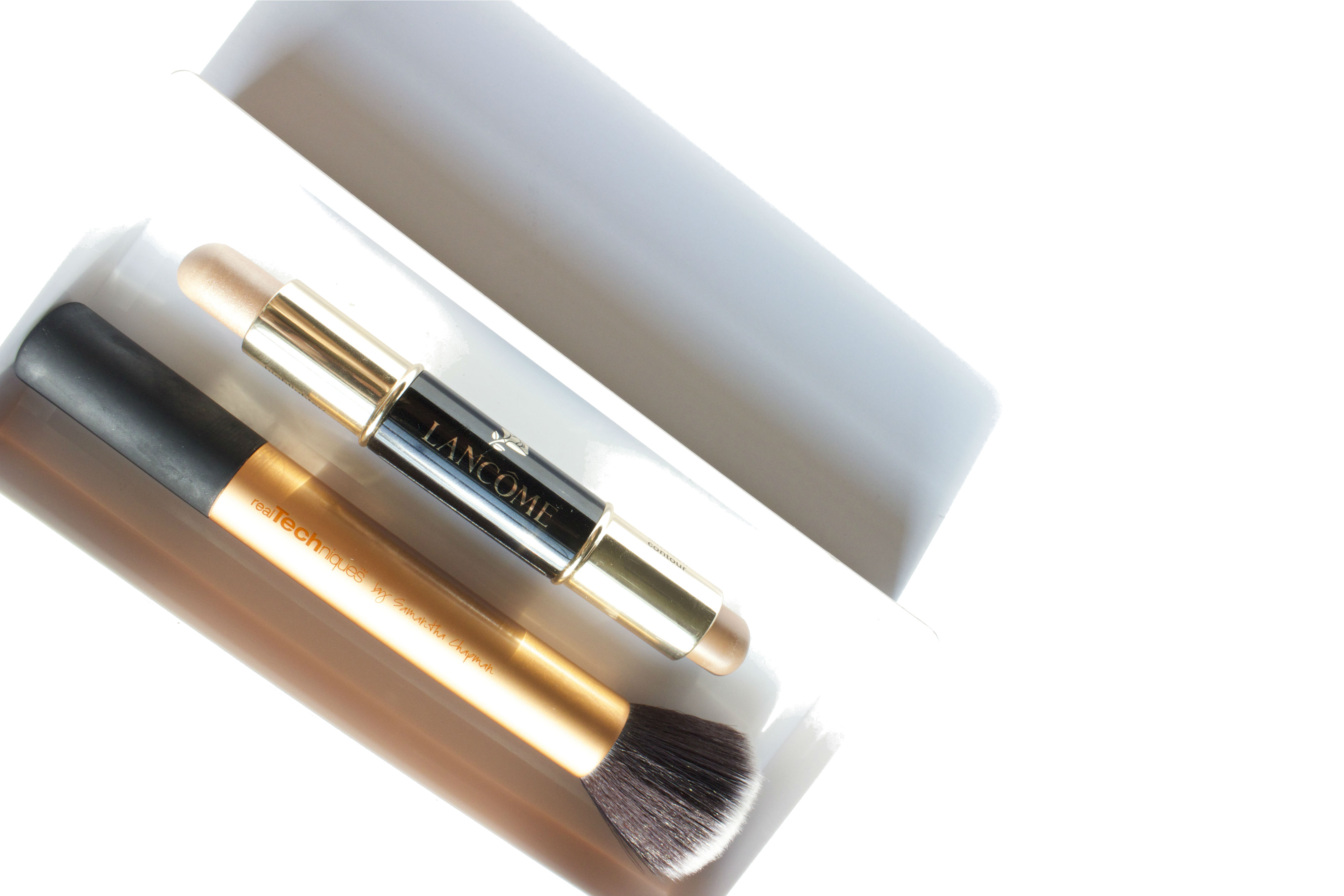 Lancôme LE DUO - Contour & Highlighter Stick Review Brighterdarling.com