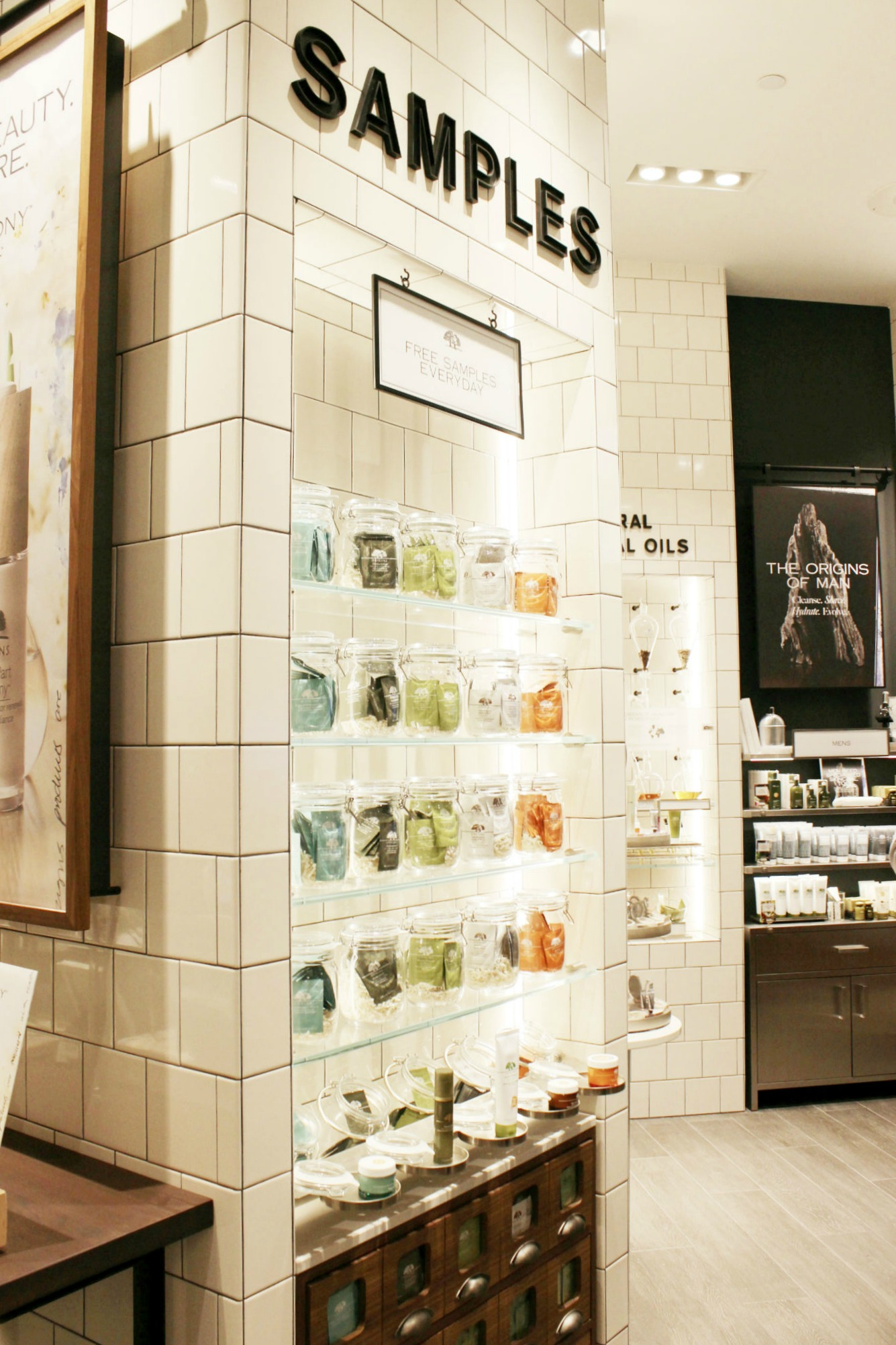 Origins Galleria Houston Samples | Brighterdarling.com