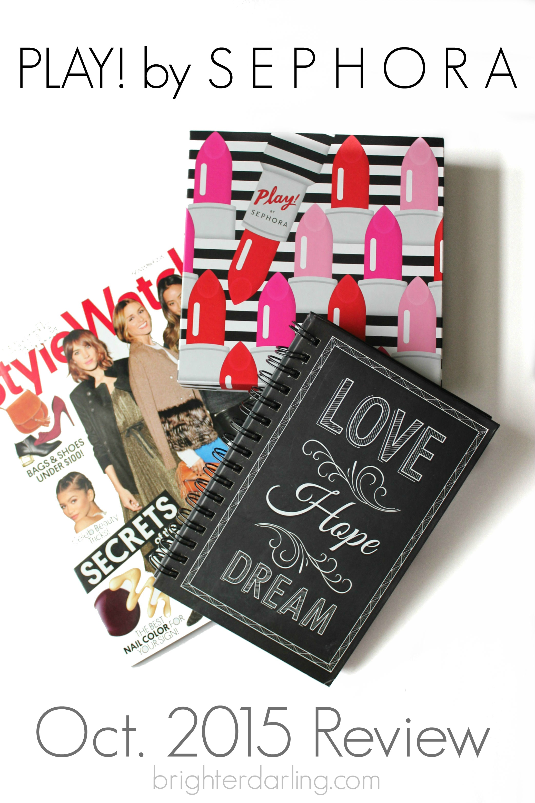 #SephoraPlay Subscription Box Review for Oct. 2015