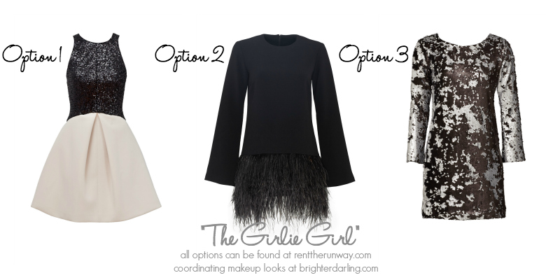 Holiday Makeup and Outfits for Girlie Girls