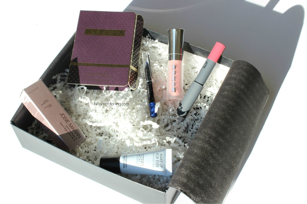 Play by Sephora Subscription Box Review Unboxing November 2015