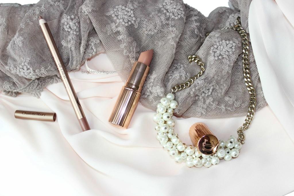 Charlotte Tilbury Iconic Nude Lip Liner Nude Kate Lipstick