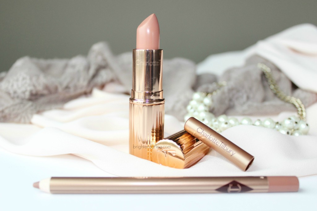 Charlotte Tilbury Nude Kate and Iconic Nude Review Best Nude Lip Medium Skin