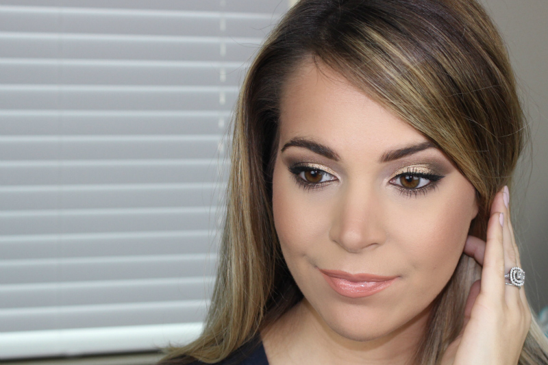 Easy Urban Decay Naked Palette Looks using Half Baked, Smog and Darkhorse on brighterdarling.com