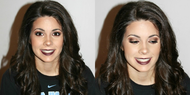 valentine's day makeup, dark makeup, sexy makeup, vampy makeup, dark lip, charlotte tilbury dolce vita palette, colourpop creature