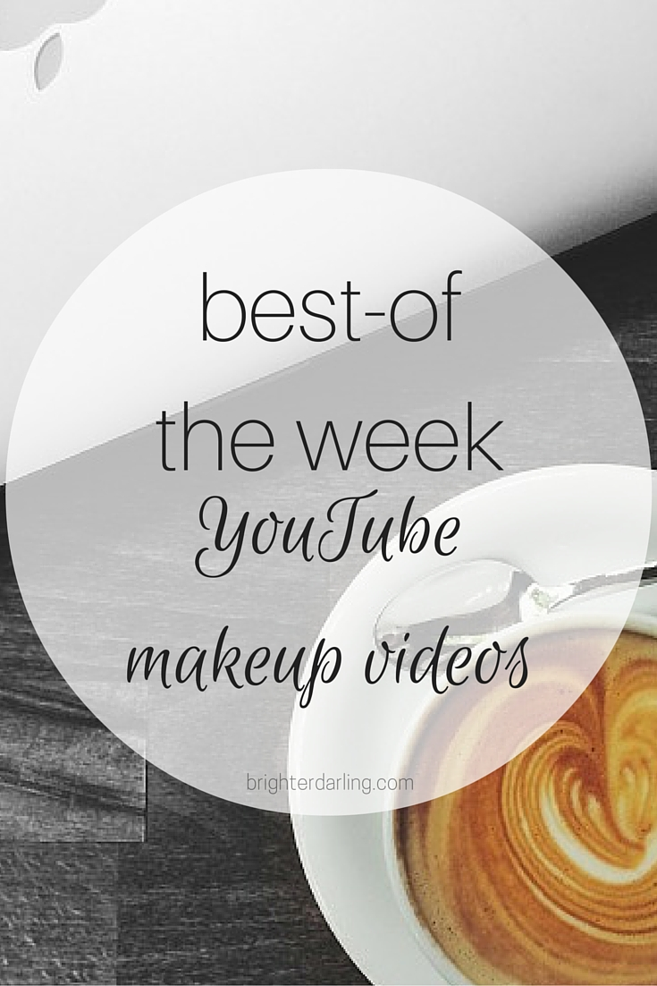My top 3 favorite YouTube Beauty Videos from Amelia Liana, Lo Bosworth and more on brighterdarling.com.