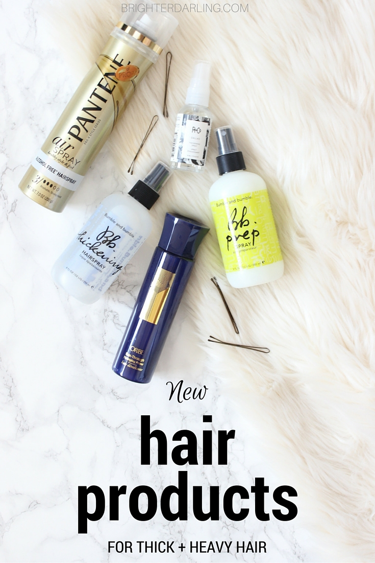 new hair products for thick hair on brighterdarling.com