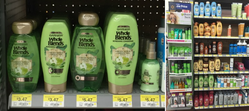 Garnier Whole Blends Hair Care at Walmart Review