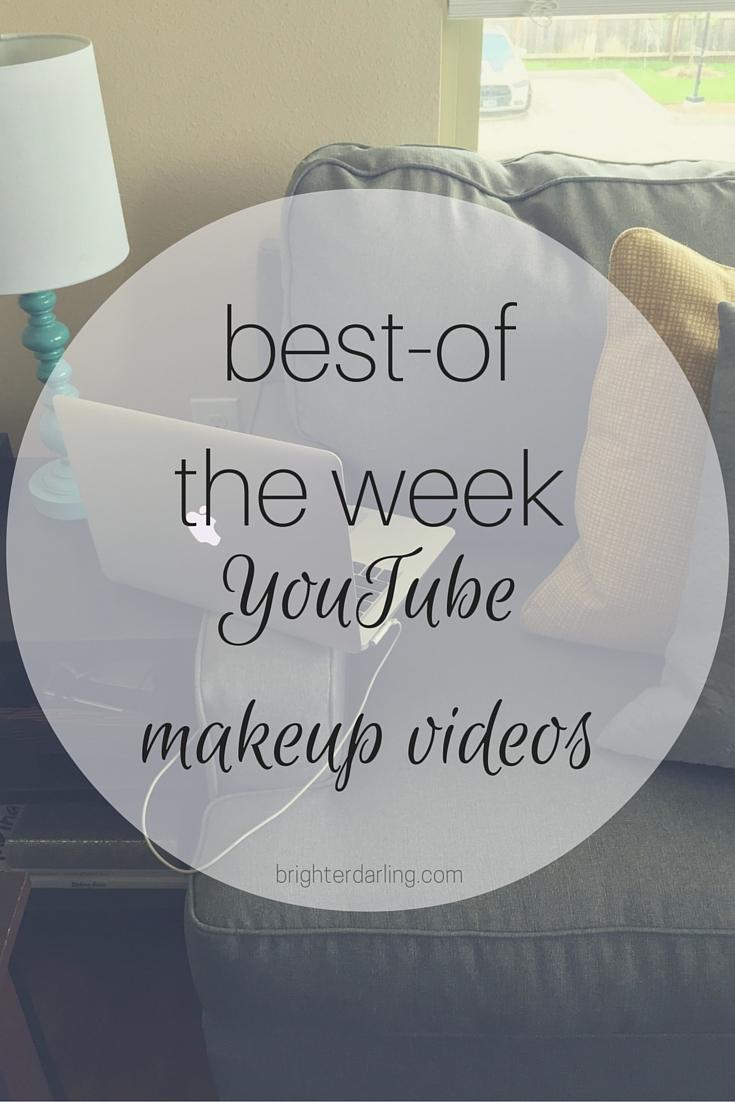 Favorite YouTube Makeup Videos Best of from Tati, Glam Life Guru, Wayne Goss and Lisa Eldridge for April 1 2016.