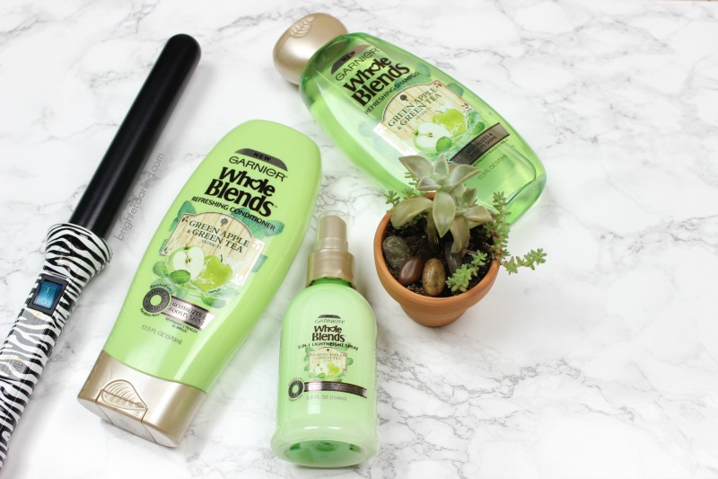 Garnier Whole Blends Refreshing Hair Care Line