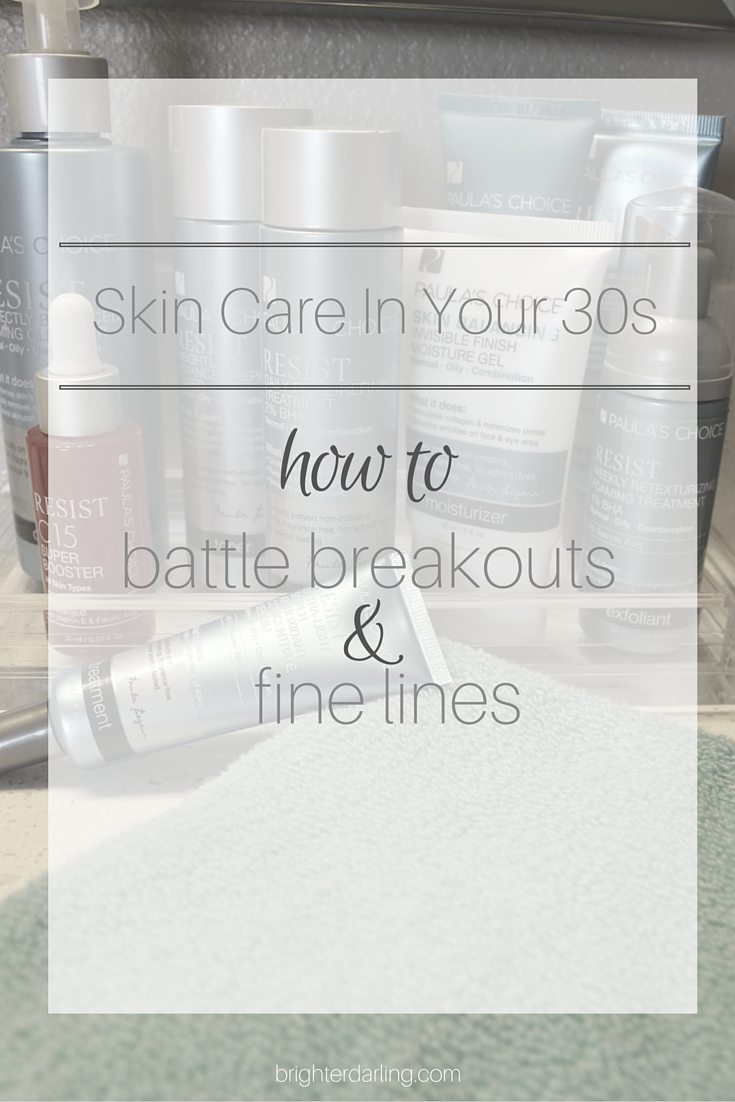 Skin Care In Your 30s | How To Treat Breakouts AND Fine Lines #PrimpLovesPaula #PowerPrimper #PaulasChoiceSkinCare #ad
