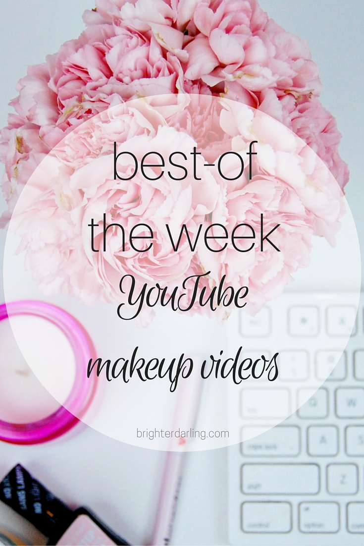 Favorite YouTube Makeup Videos from Huda Beauty and Steph's Beauty 05 on brighterdarling.com.