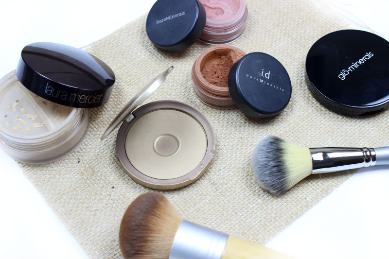 Ultimate Guide to Mineral Foundation | Glominerals Laura Mercier Mineral Powder Jane Iredale Pure Pressed Base