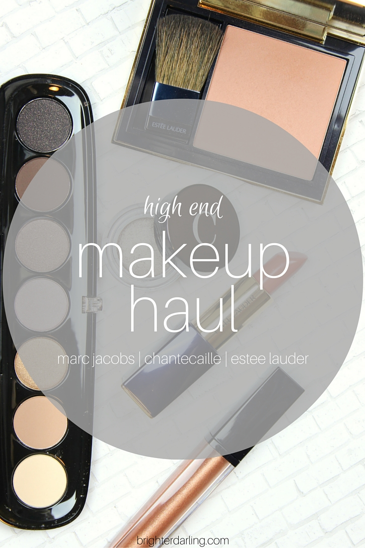 High End Makeup Haul from Neiman Marcus #CampGorgeous in Houston | Marc Jacobs Social Butterfly, Chantecaille Triton, Estee Lauder Discreet, Estee Lauder Sensuous Rose