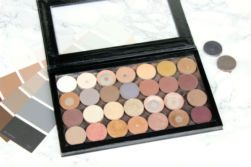 MAC Eyeshadow Collection and Swatches