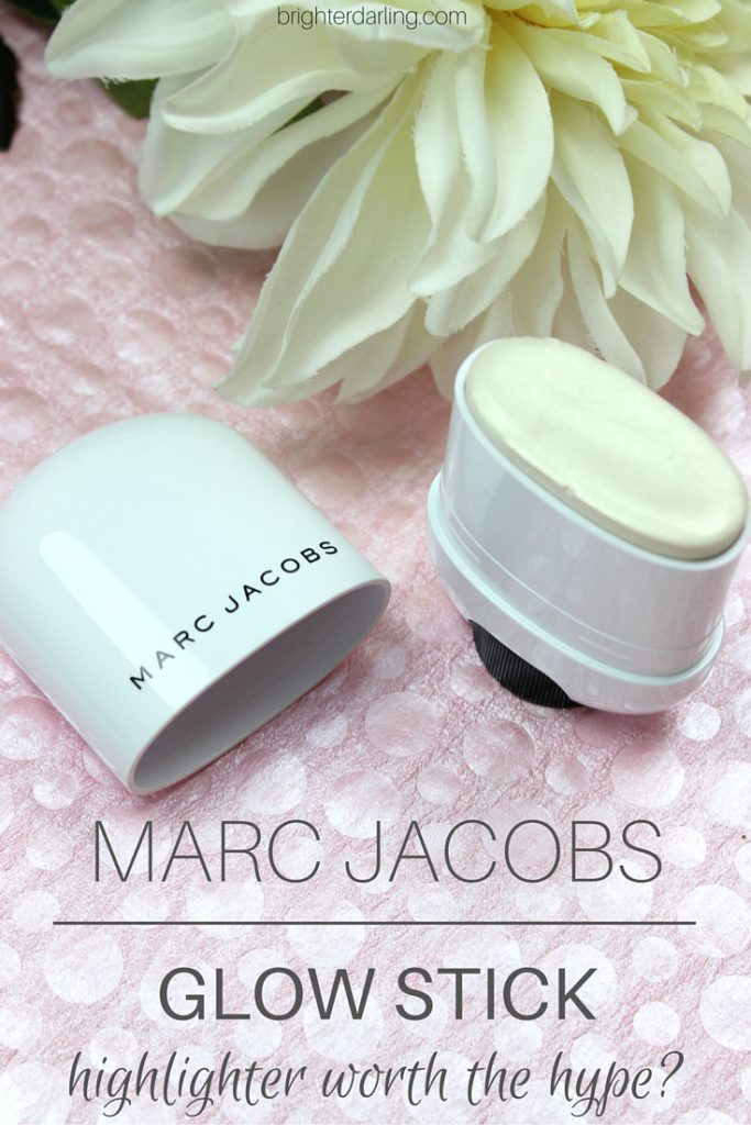 MARC JACOBS Glow Stick Review   Marc Jacobs Spotlight Highlighter Review