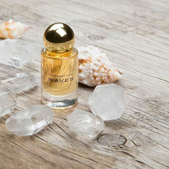 Amongst the Waves Perfume Oil $48   Impressive Beauty Buys from Etsy