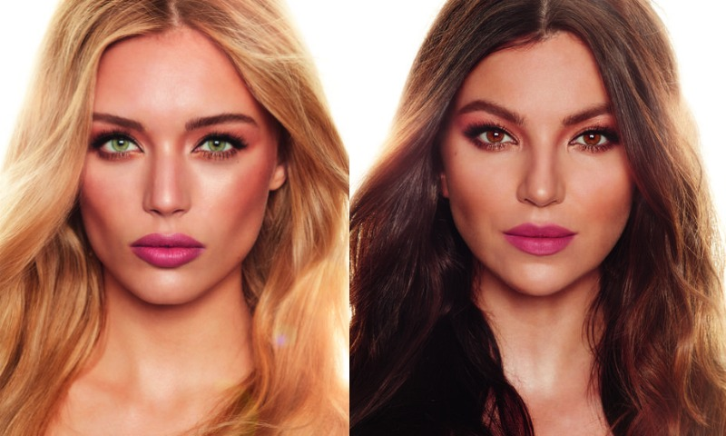 Charlotte Tilbury The Dreamy Look on Blonde and Brunette