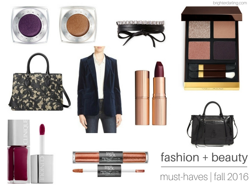 5 Items You Need This Fall | Fashion and Beauty Must Haves for Fall 2016