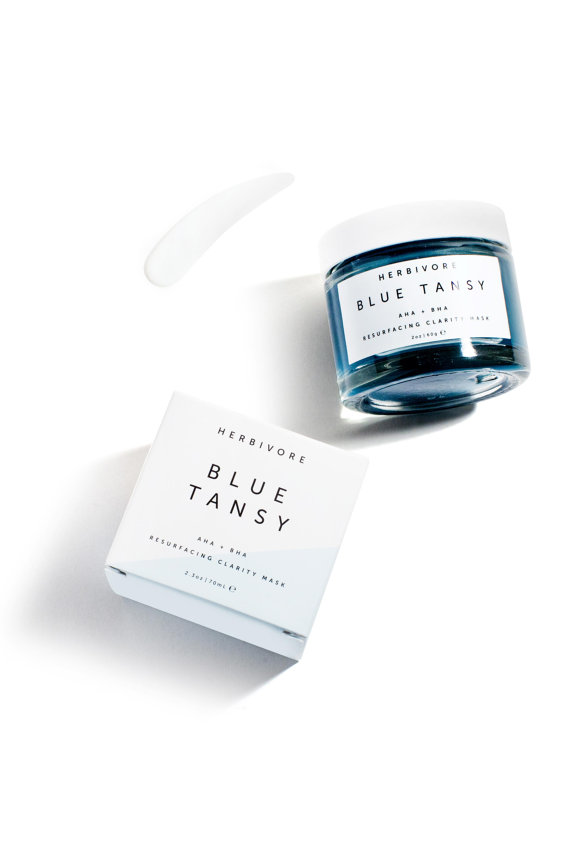 HERBIVORE Blue Tansy Face Mask $48   Impressive Beauty Buys from Etsy