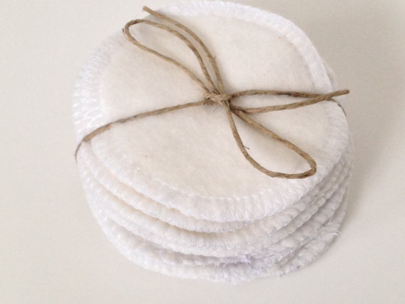 Reusable Cotton Rounds $7 and up   Impressive Beauty Finds on Etsy