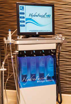 HydraFacial Machine at Caesars Qua Spa Las Vegas Review
