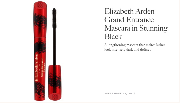 Allure Best of Beauty | Elizabeth Arden Grand Entrance Mascara