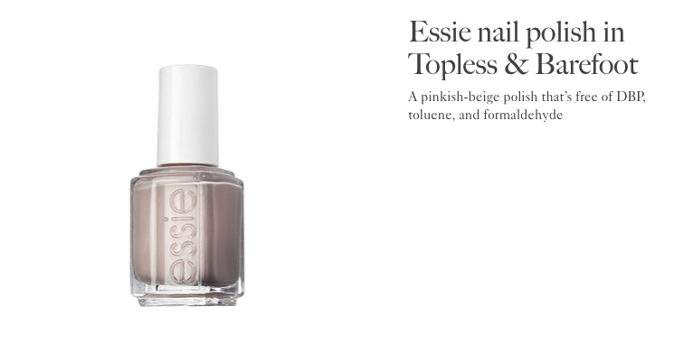 Allure Best of Beauty | Essie Topless and Barefoot
