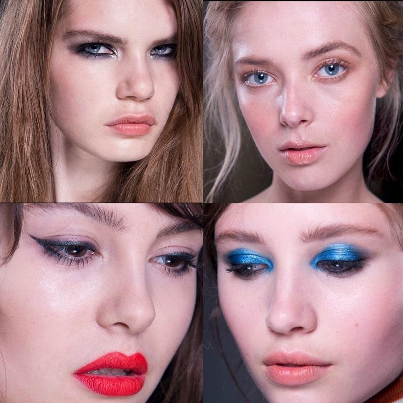 Victoria Beckham Estee Lauder Makeup Looks | London, New York, LA, Paris