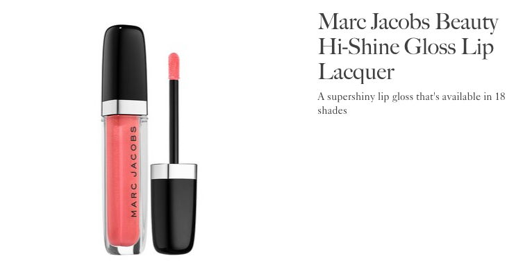 Marc Jacobs Hi Shine Lip Lacquer | Allure Best of Beauty