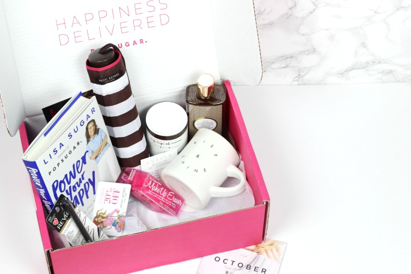 October 2016 PopSugar Must Have Box Review