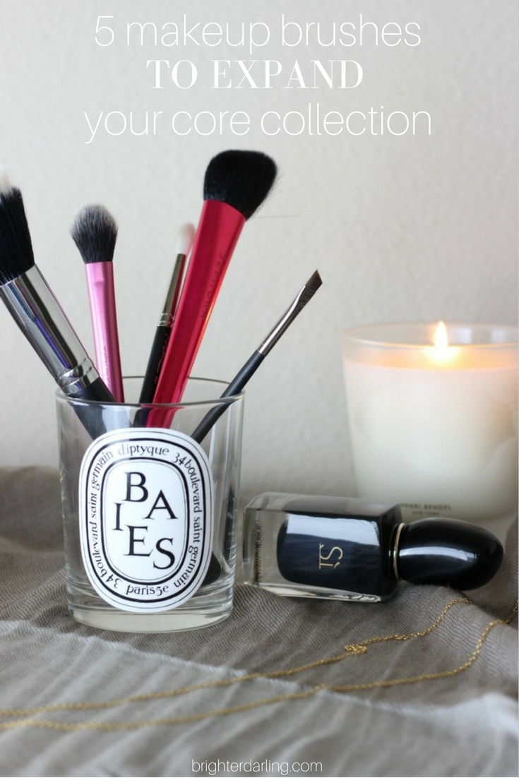 5 Makeup Brushes to Expand Your Core Collection | MAC 221, Morphe M406, MAC 263, Real Techniques Setting Brush, Sephora Angled Blush Brush