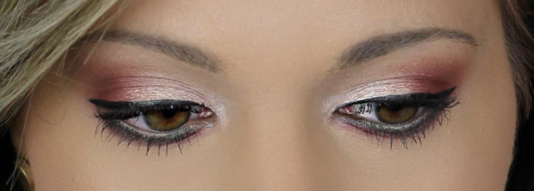 Modern Renaissance Brown Eyes | Sunset Color Eye Makeup
