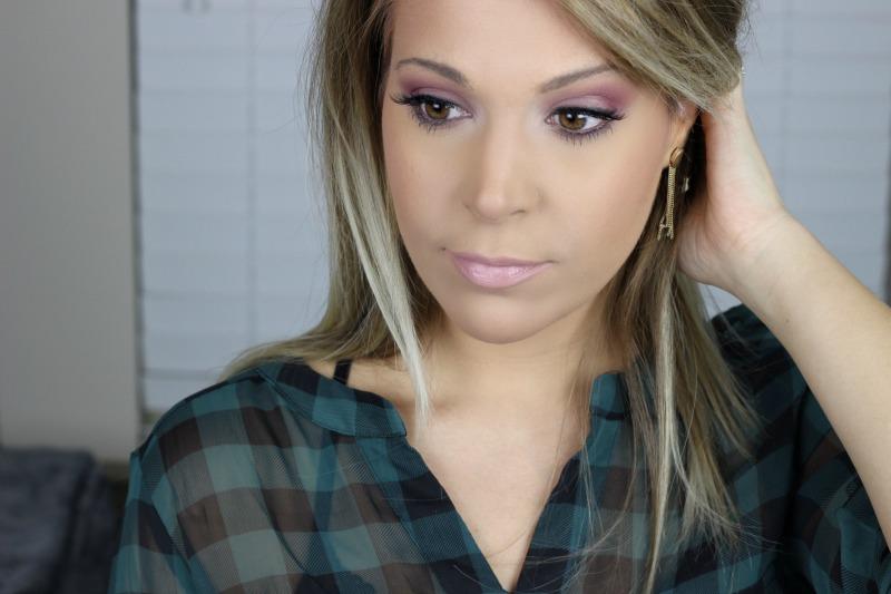 Modern Renaissance Brown Eyes | Modern Renaissance All Matte Warm Eyeshadow Look | MAC Lipstick in Angel