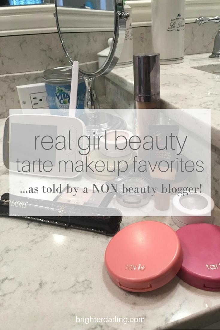 Real Girl Beauty Tarte Makeup Favorites