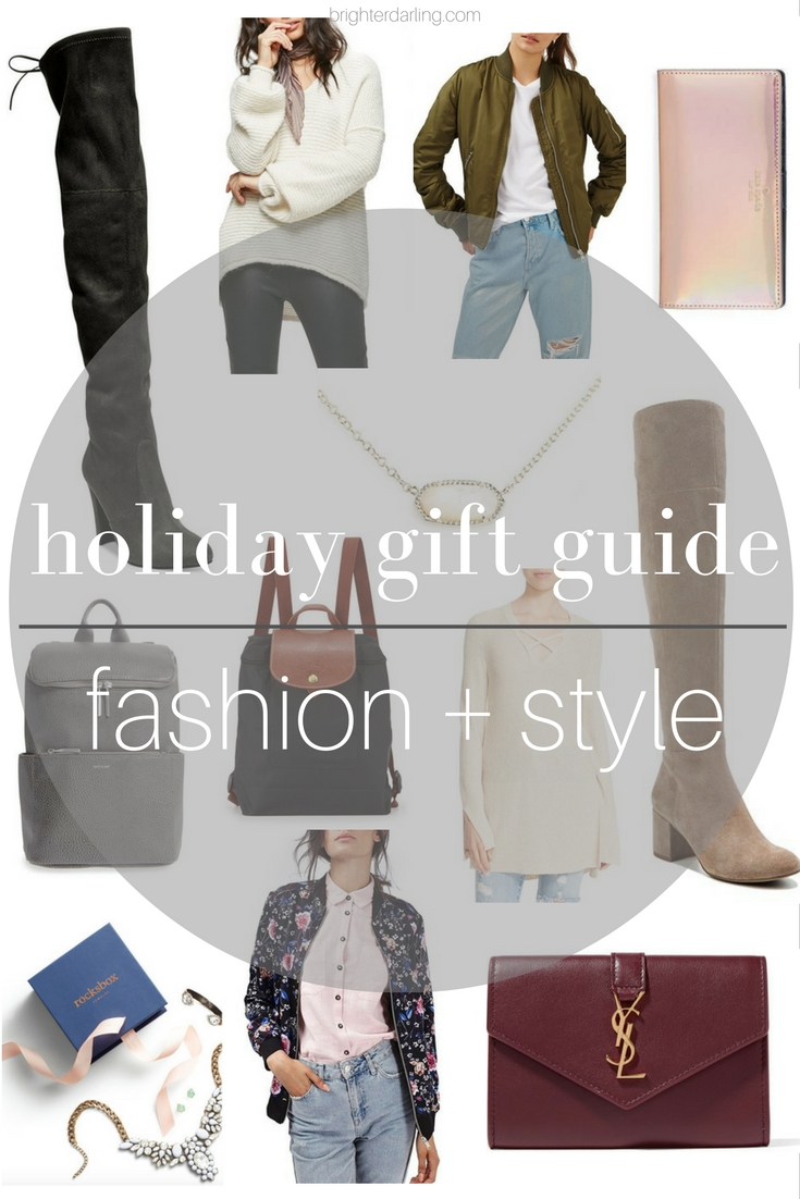 fashion and style holiday gift guide