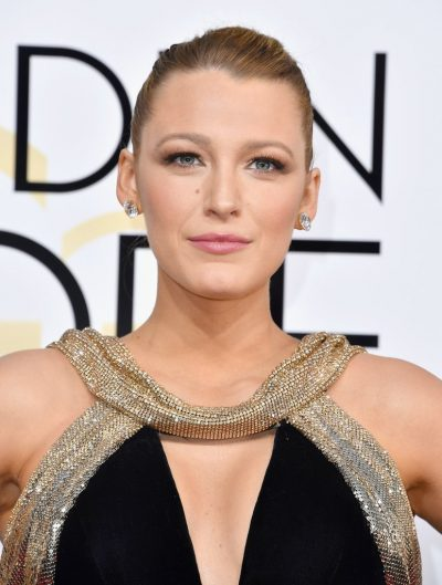 Blake Lively Golden Globes 2017 Makeup