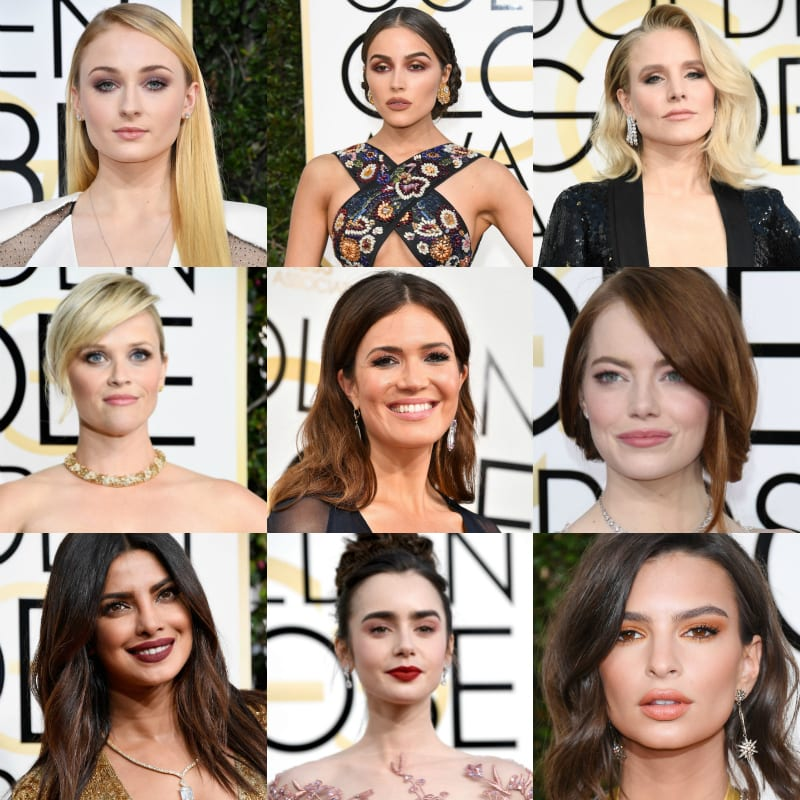 Golden Globes 2017 Makeup Favorite Looks