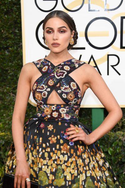 Olivia Culpo Golden Globes 2017 makeup