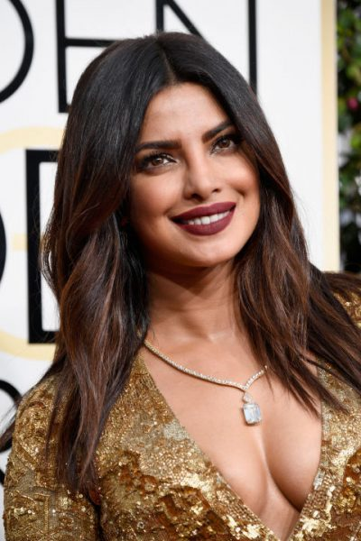 Priyanka Chopra Golden Globes 2017 Makeup