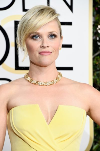 Reese Witherspoon Golden Globes Makeup 2017