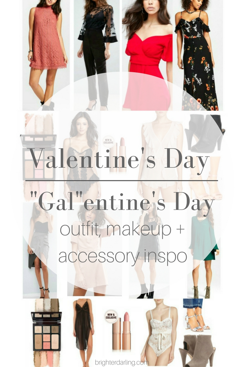 Valentine's Day Outfit Guide | Valentine's Day Lingerie | Galentine's Day Outfits | Galentine's Day Makeup | Valentine's Day Makeup | Valentine's Day Inspiration