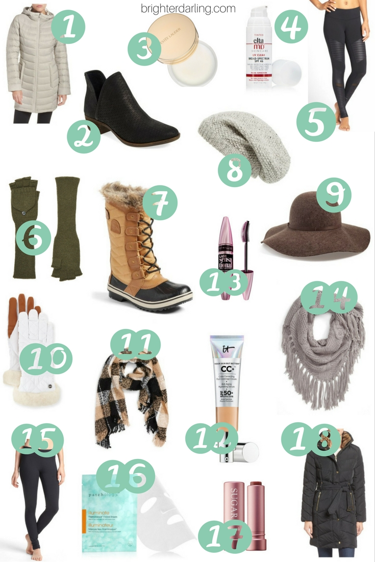18 Winter Getaway Must Haves | Ski Trip Must Haves in Beauty in Fashion | Beauty Blogger
