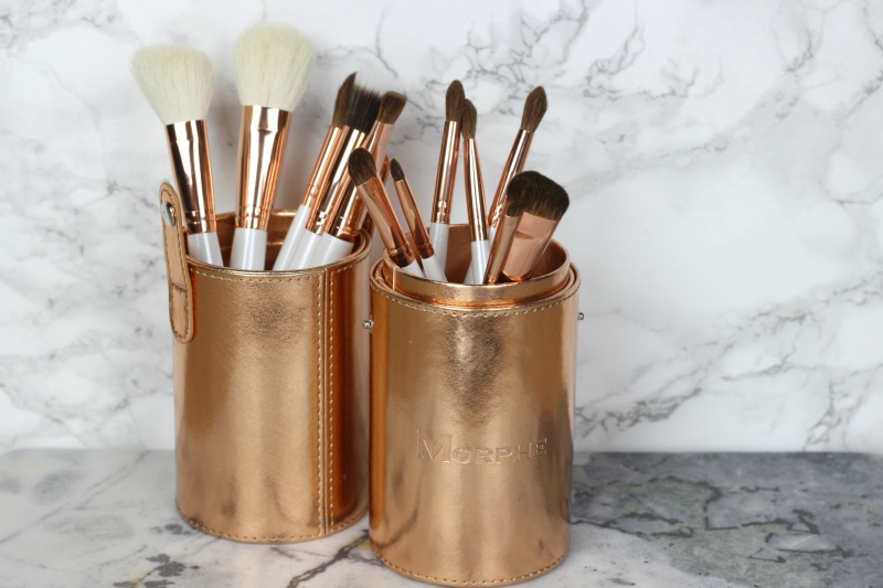 Morphe Copper Dreams Brush Set Review | Rose Gold Makeup Brushes